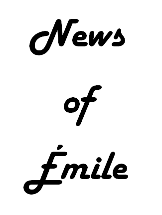 News of Emile, le journal du centenaire